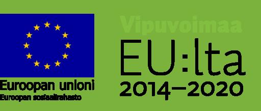Vipuvoimaa EU:lta 2014-2020 -logo.